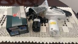 Motor para Maquina de Costura Domestica 220V novo com pedal