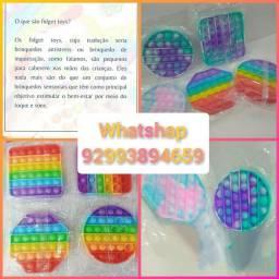 Brinquedo sensorial pop it Fidget 60.0 cada