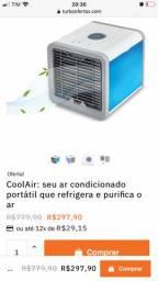 Mini ar condicionado portatil
