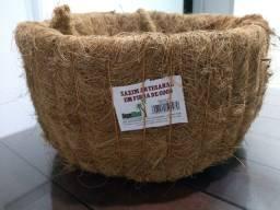 Xaxim artesanal em fibra de coco