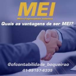 MEI - Micro Empreendedor Individual a partir de R$80,00