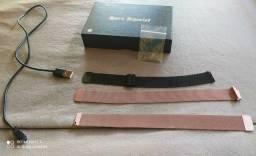 Pulseiras e carregador relogio smartwatch modelo p70