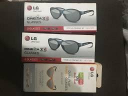 Óculos 3D é um Dual Play LG Barato