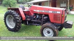 Trator Massey Ferguson 265 Advanced 4x2 ano 06
