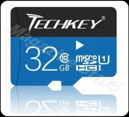 Cartão de Memória 32Gb Micro SD - Techkey