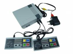 Video Game Retro Super Mini 2 Controles e 620 Jogos 8 Bits Instalados