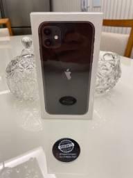 iPhone 11 64gb Preto Anatel capa e película loja física