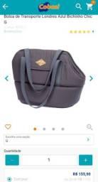 Bolsa para transporte Pet Bichinho chic tamanho G