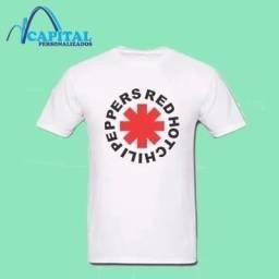 camisas com estampa de rock