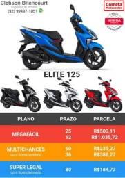 Honda elite 125 - leia o anúncio!