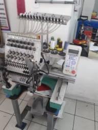 Maquina de bordado tajima jr 1 boca completa