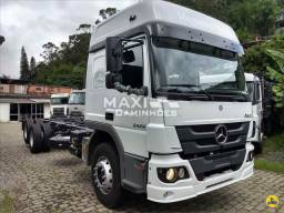 MB Atego 2426 6x2 Truck OKM Completo Pronta entrega