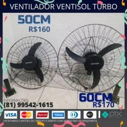 Ventilador de Parede Oscilante Ventisol