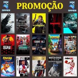 PROMOÇÃO DE JOGOS XBOX ONE S E X