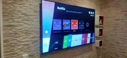"""Troco smart tv 65"""" polegadas por  uma de 75"""" pago volta leia o anúncio"""