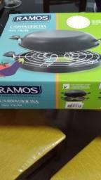 Churrasqueira  de fogão. Sem fumaça