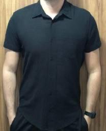 Camisa Masculina Osklen Black