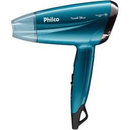 Secador de Cabelo Philco PSC02 Travel Blue , Azul