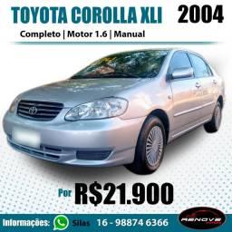 Toyota Corolla xli 2004 manual