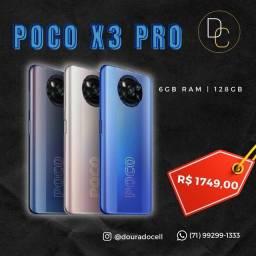 Poco X3 Pro 128gb na PROMOÇÃO!