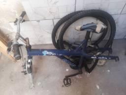 Vendo quadro e aro de bike( ler anúncio)