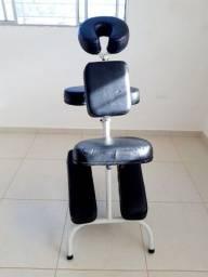 Cadeira massagem shiatsu dobravel portatil
