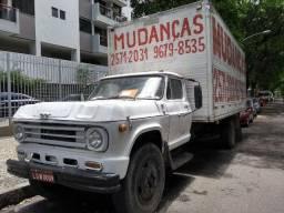 Caminhão Baú D-60- 18.500,00!