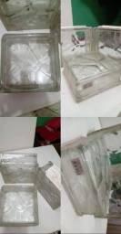 50 Blocos de vidro R$ 150,00