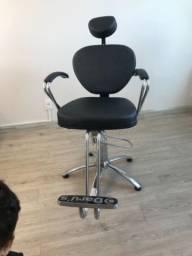 Poltrona Cadeira reclinável, maquiagem, Cabeleleira, sobrancelhas