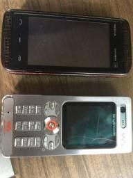 Sony W880i e Nokia