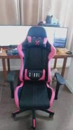 Cadeira gamer rosa a pronta entrega