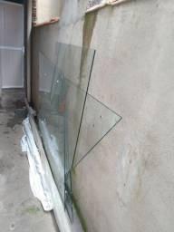 5 peças de vidro