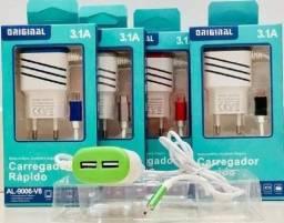 Carregador Rápido 3.1a Micro USB Original