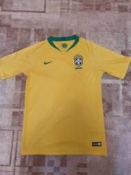 Camisa da seleção brasileira copa do Mundo 2018