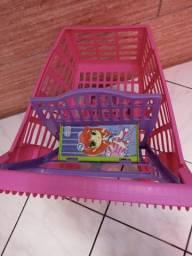 Carrinho de compras de brinquedo