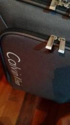 Mala Calvin Klein Original Cor Cinza - Usada Somente Uma Vez