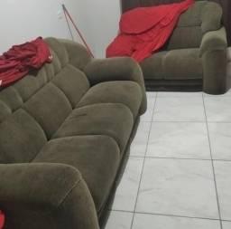 Vendo ou troco por sofá de canto