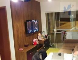 Apartamento com 2 dormitórios à venda, 56 m² por r$ 210.000 - riviera fluminense - macaé/r