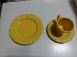 Jogo de chá e sobremesa Oxford