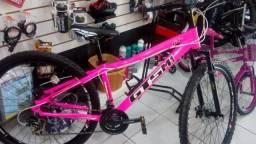 """Bicicleta GTS fem 29"""" 24V seminova, revisada, com garantia"""