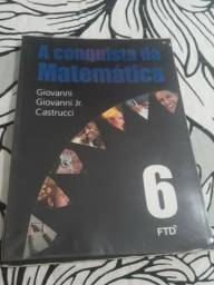 A conquista da matemática 6° ano