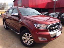 Ranger limited 3.2 diesel automática top de linha baixo km - 2017