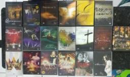 Coleção de DVD's Diante do Trono (19 dvd's no total) usado