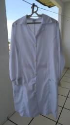 Jaleco branco 70 reais