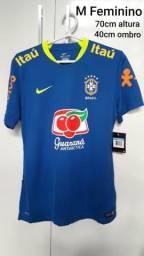 c0ac963a5c Camisa Seleção Brasileira -M Feminino