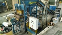 Maquina hidraulica de blocos de concreto