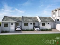 Casa de condomínio à venda com 2 dormitórios em Oficinas, Ponta grossa cod:392547.001