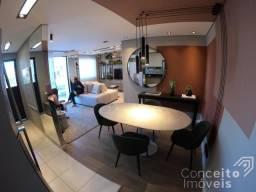 Apartamento à venda com 2 dormitórios em Uvaranas, Ponta grossa cod:392448.001