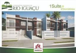 Casa à venda com 3 dormitórios em Iguaçu, Fazenda rio grande cod:SB00019