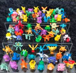 Kit 72 Miniaturas Pokemon Incriveis Colecionar com Pikachu Incluso